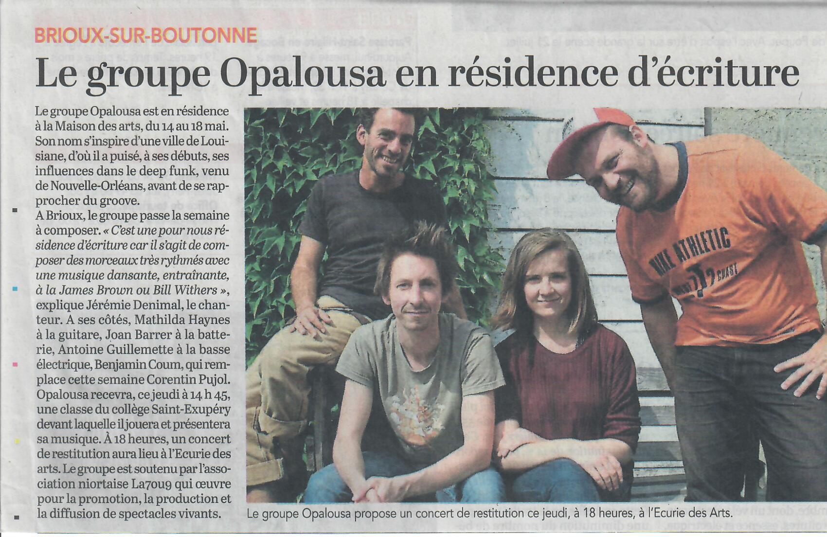 Opalousa_1ère_résidence