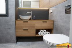חדר אמבטיה הורים דירה ברמת גן