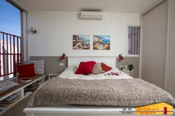 חדר שינה הורים לפני ואחרי