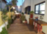 תכנון בית פרטי ברמת גן, מבט חיצוני לכיוו