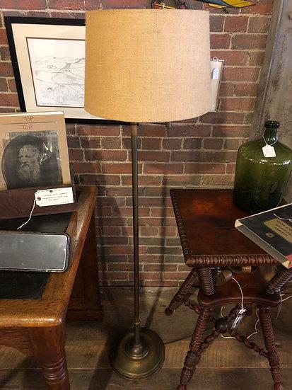 SOLD - Articulating Brass Floor Lamp
