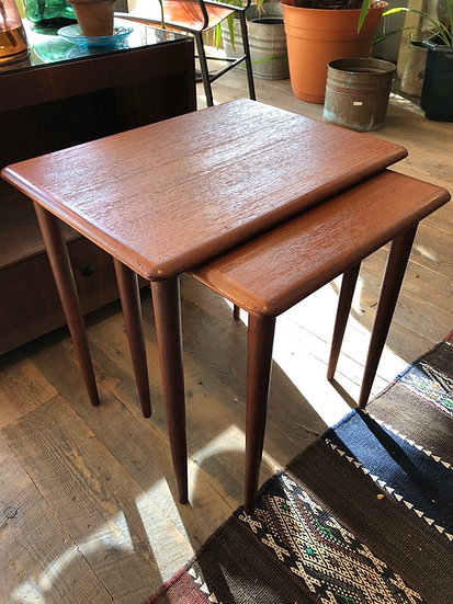 SOLD - Pair Nesting Tables