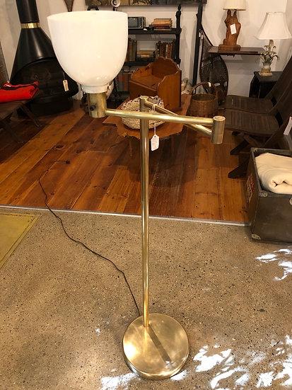 SOLD - Nessen Swim-Arm Floor Lamp