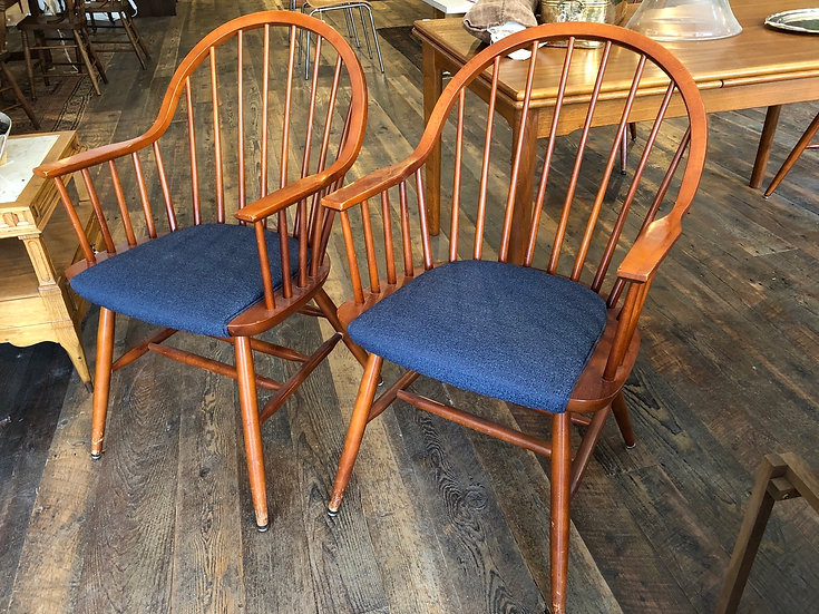 SOLD - Pair Windsor Chairs