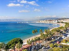 coastline of Cannes