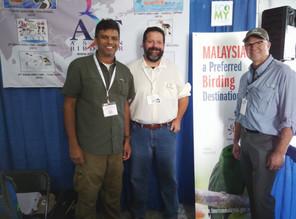 First Malaysian Representative at the American Birding Expo!