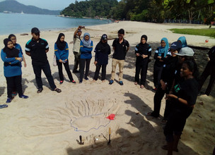 Celebrated World Wetlands Day at Vale Eco Centre, Teluk Batik, Perak