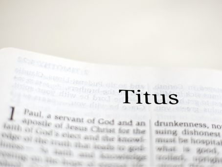 Introduction to the book of Titus