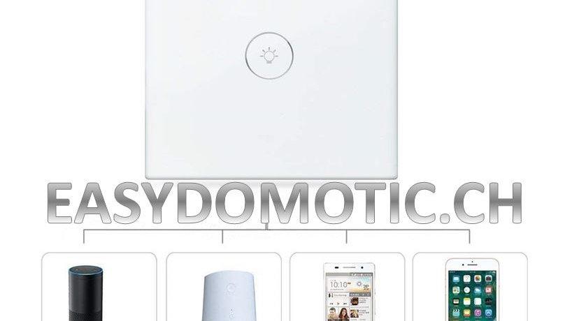 Interrupteur connecté wifi