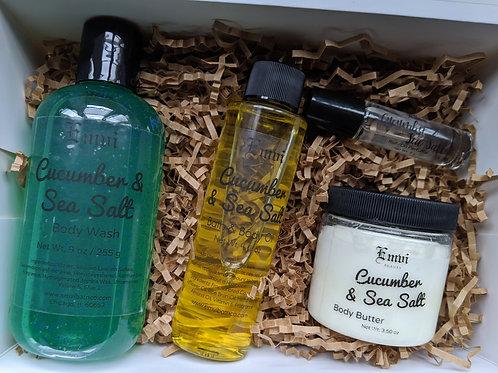Cucumber & Sea Salt Gift Set