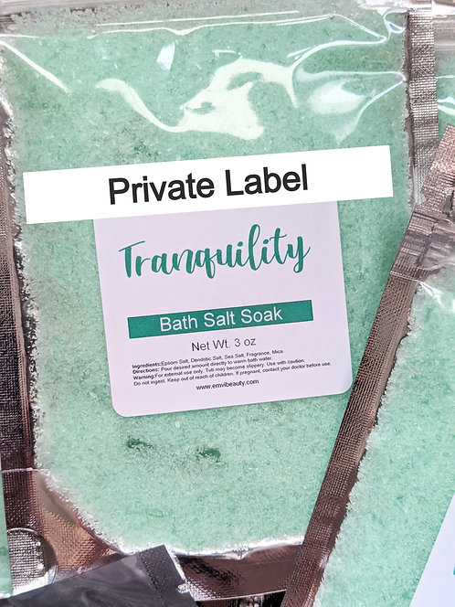 Private Label Bath Salts