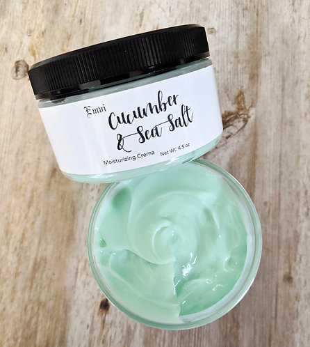 Cucumber & Sea Salt Moisturizing Crema