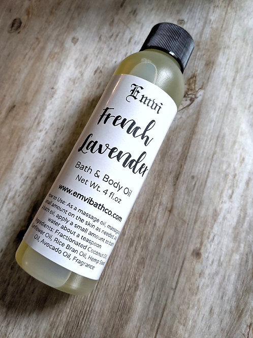 French Lavender Bath & Body Oil