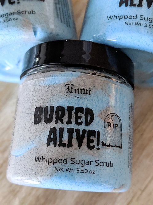 Buried Alive! Whipped Sugar Scrub