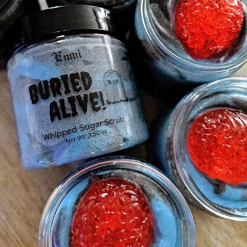 Buried Alive! Whipped Sugar Scrub