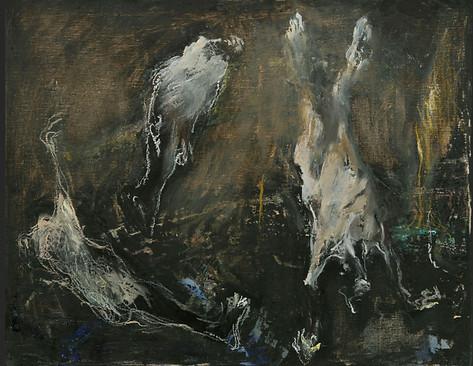 Huile sur toile 44X55 cm