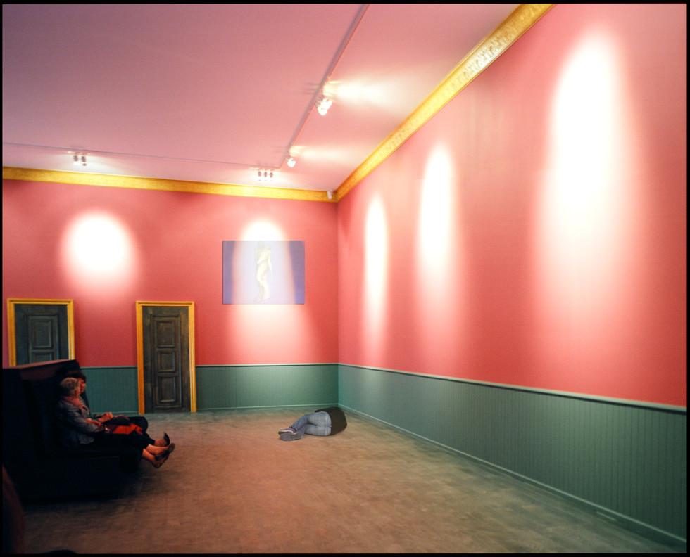 Autoportrait au musée imaginaire, 2017