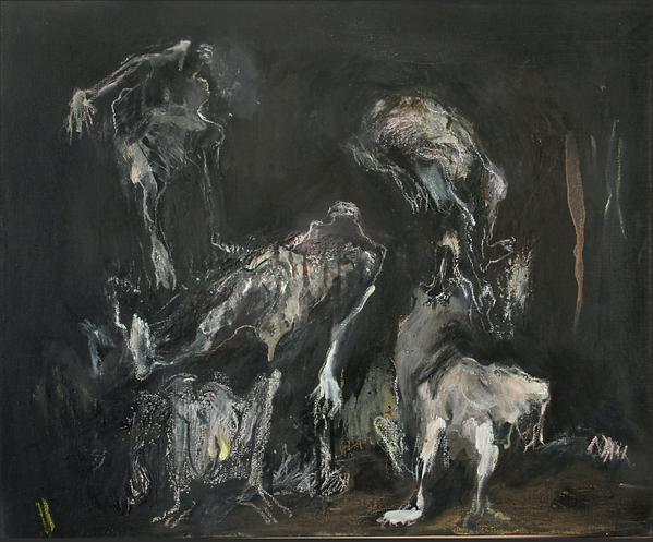 Huile sur toile 63,5X78 cm