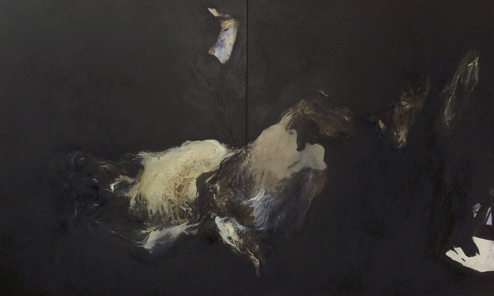 Huile sur toile 107X182 cm