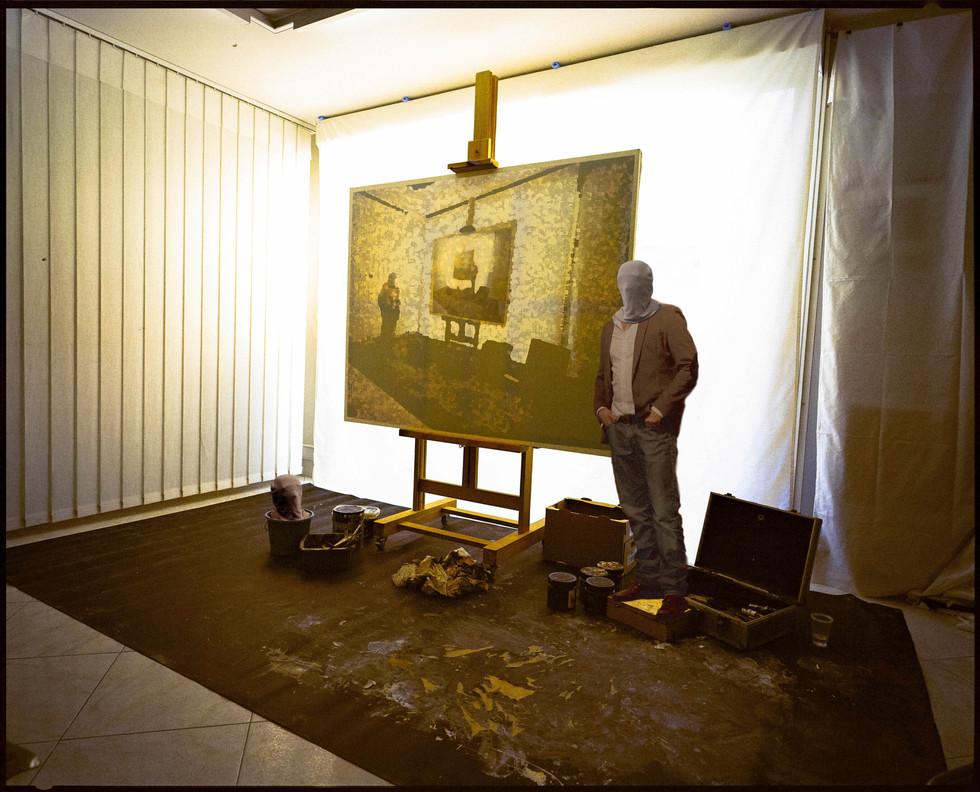 Autoportrait à la toile, 2017
