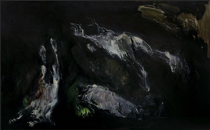 Huile sur toile 61,3X99,5 cm