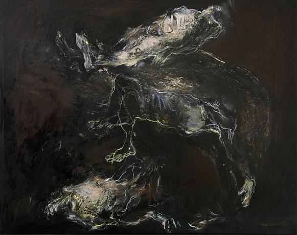 Huile sur toile 62X77,5 cm