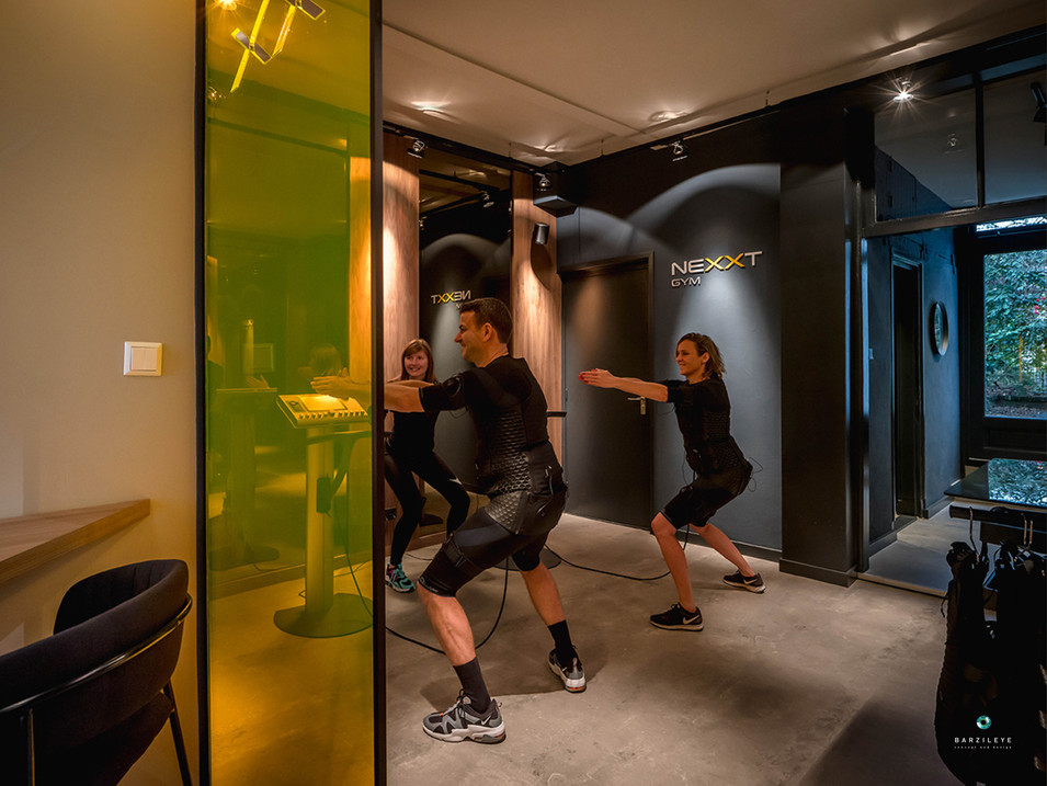 NEXXT GYM / Angelika Barzilay