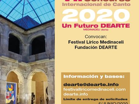 VII CONCURSO INTERNACIONAL DE CANTO 2020