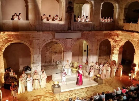 AMAO y el Coro Femenino de Tomelloso triunfan con AIDA en el VI Festival Lírico de Medinaceli