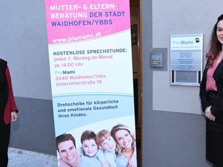 Die Stadträtin rät:  Mutterberatung jeden 1. Montag im Monat