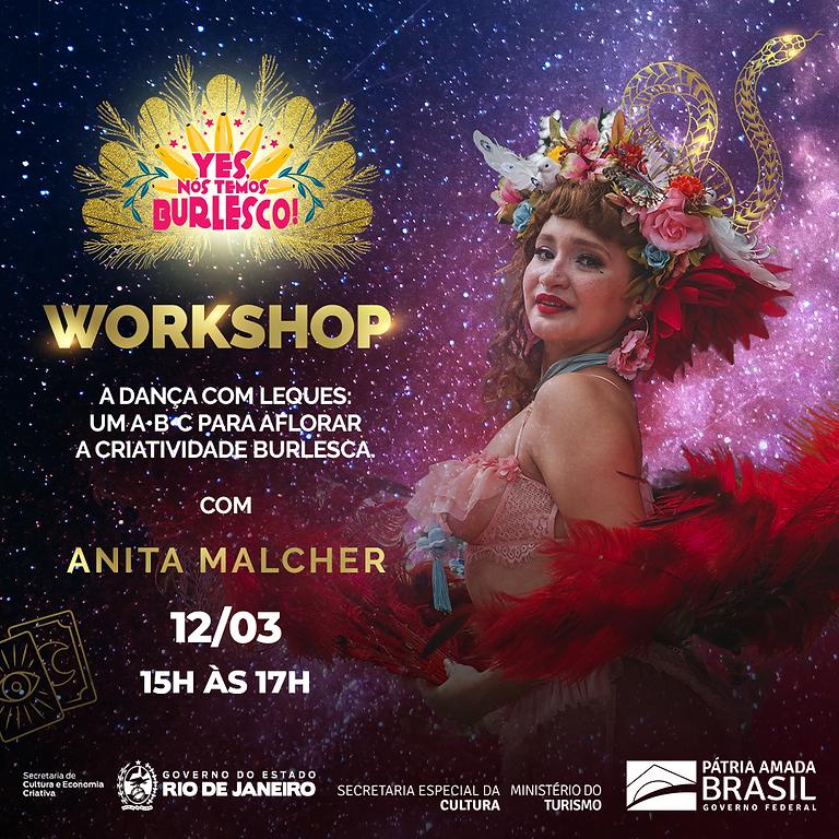 Workshop A dança com Leques: Um A•B•C para aflorar a criatividade burlesca