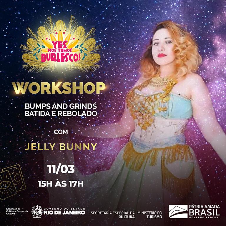Workshop: Bumps & Grinds: Batida e Rebolado