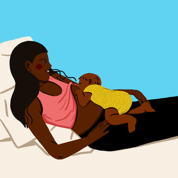 Positions for Breastfeeding.  The series of 8 positions are included on The Bump app, web, email and social. I sourced the illustrator, Decue Wu and provided brand direction. Currently ranking on the first page of google search for the related keywords.I guided and art directed throughout the duration of the project.