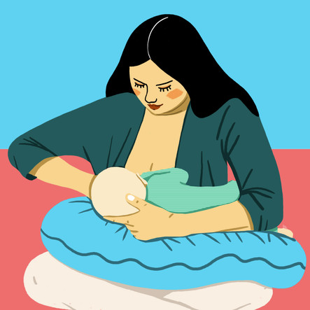 Positions for Breastfeeding.  The series of 8 positions are included on The Bump app, web, email and social. I sourced the illustrator, Decue Wu and provided brand direction. I guided and art directed throughout the duration of the project. Currently ranking on the first page of google search for the related keywords.