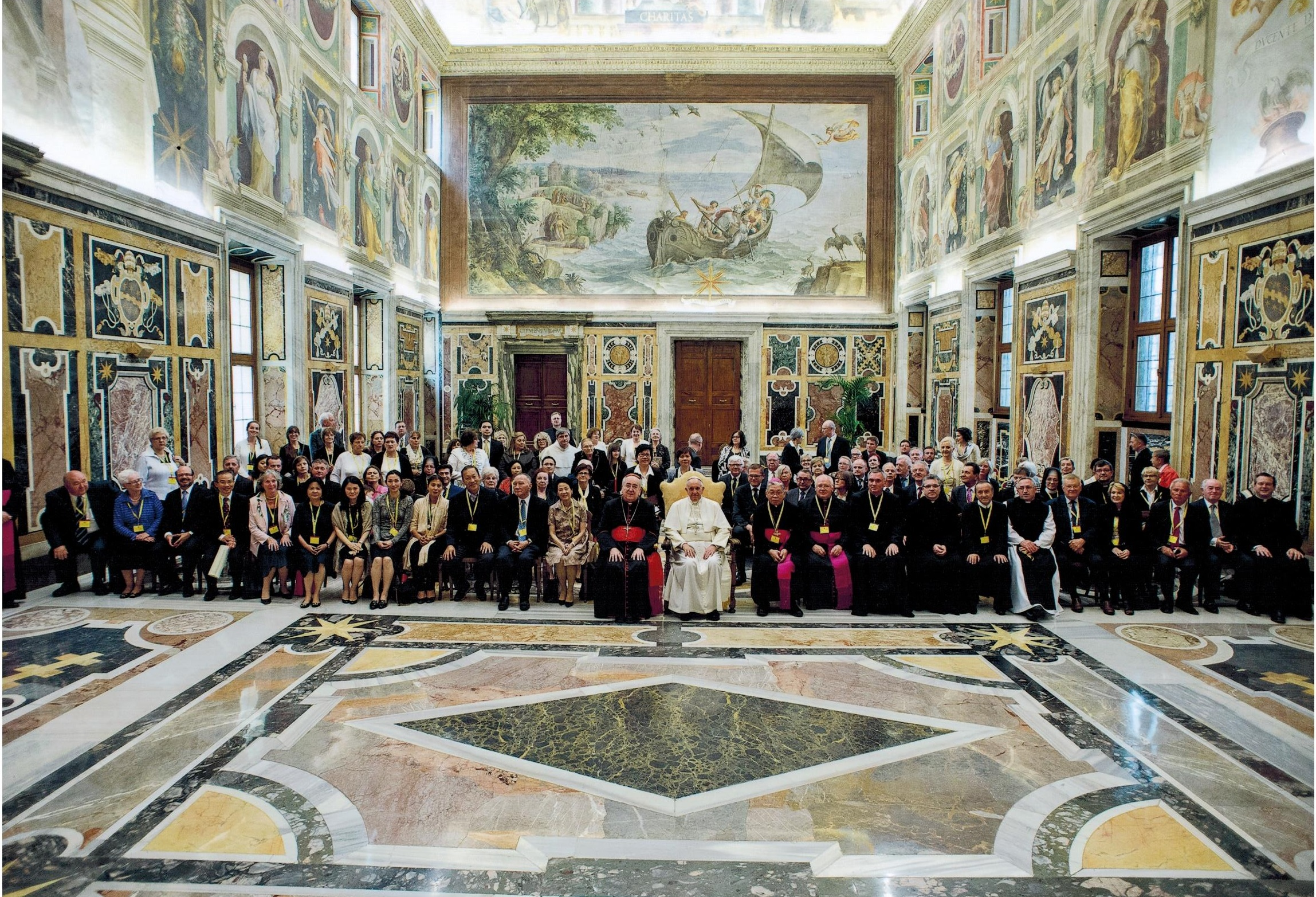 Papal Audience with Foundation