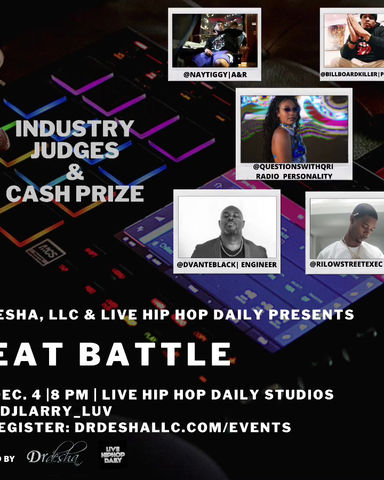 Beat Battle Hosted At Live Hip Hop Daily