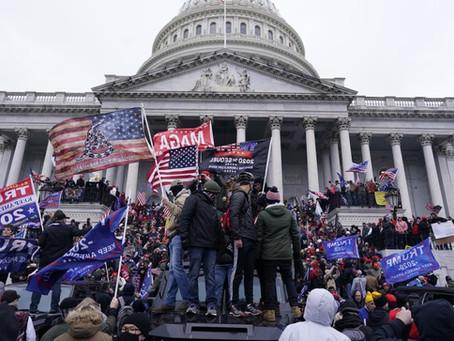 Pro-Trump Mob Storm Capitol Building