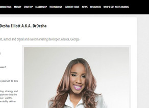 CEO of DrDesha, LLC Featured in Lioness Magazine