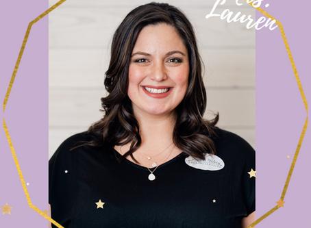 Introducing Mrs. Lauren- Not just an Occupational Therapist