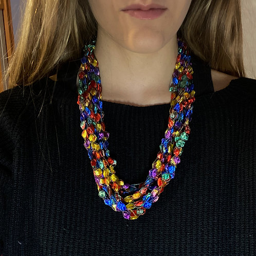 Collana inglese multicolor