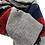 Sciarpa misto lana vista dettaglio