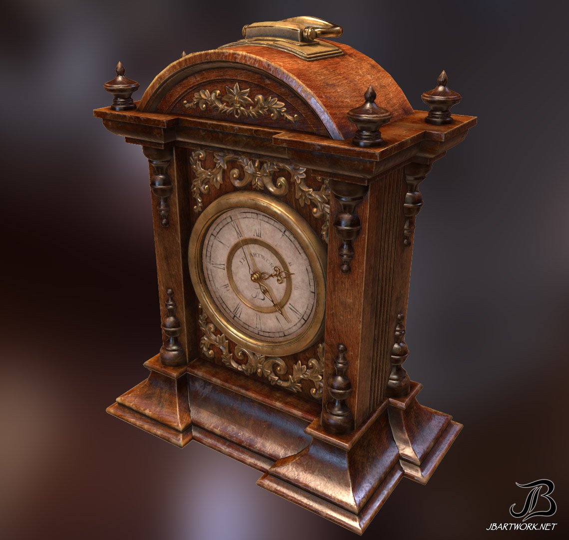 Antique Clock 1