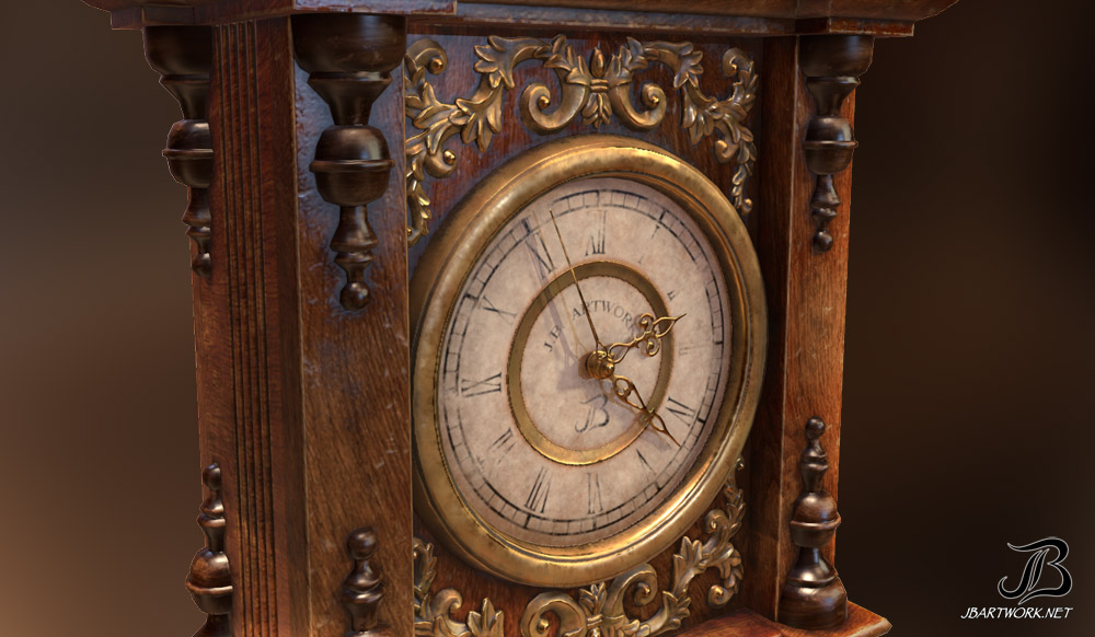 Antique Clock 3