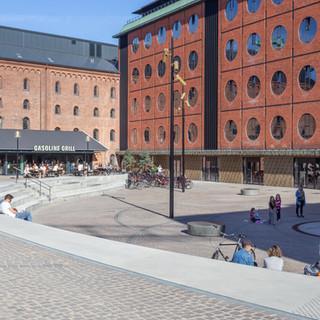 Bryggernes Plads, Carlsberg Byen