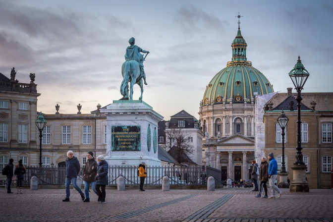 Amalienborg, Cph