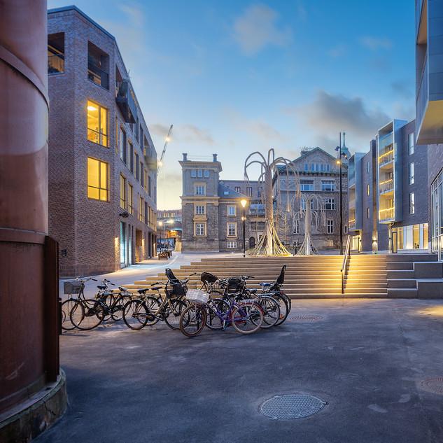 Bag Elefanterne, Carlsberg Byen