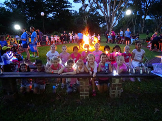Smores and more on our District Girl's Night Out