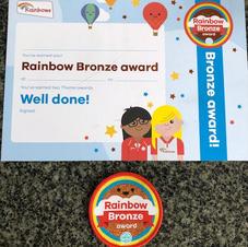Rainbow Bronze Award