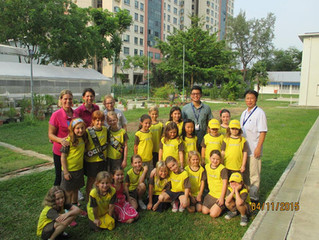 Brownies and Rainbows take part in the BIG GIVE