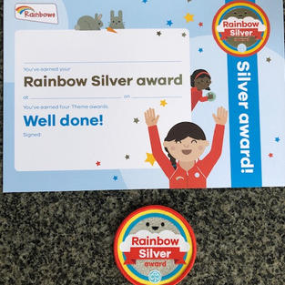 Rainbows Silver Award